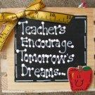 Teacher Gifts 2701 Teacher Supply Box for Pens, Ruler, Scissors, etc. Wood Box
