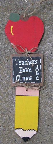 92St - Teacher Stringer - Apple, Slate and Pencil