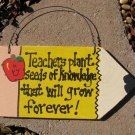 Teacher Gifts Wood Pencils 29 Teachers Plant Seeds