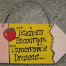 Teacher Gifts Wood 24 Pencil Teachers Encourage Tomorrow's Dreams
