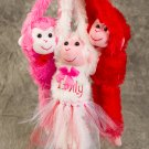 Valentine's Day Plush Personalized Love Monkeys