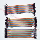 Dupont line 120pcs 20cm male to male + male to female jumper wire Dupont cable for Arduino