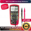 "UNI-T UT139C True RMS 2.6"" LCD Digital Multimeter Electrical Handheld Tester"