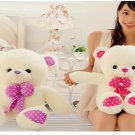 luminous teddy bear plush toy doll birthday ice cream Valentines Day gift to send girls