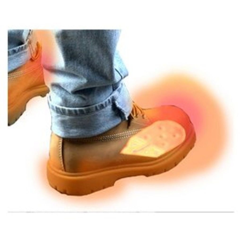 Battery Electric Feet Heated Shoe Boot Insoles Inserts Sock Snow FOOT WARMER