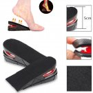 Women Men Shoes Insole Air Cushion Heel Insert Increase Taller Height Lift