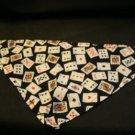 Dog Bandana with Playing Cards Size XSmall