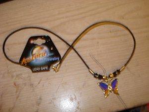 Aurora Mood Jewlery-Butterfly Necklace