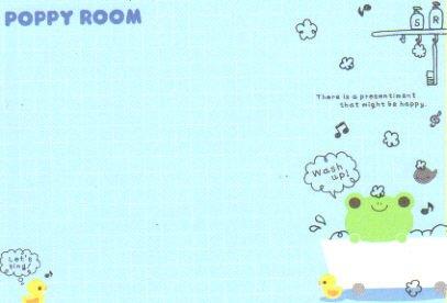 Poppy Room Memo 3