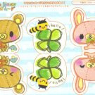 Kinoko Bear Memo Sheet 1