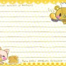 Kinoko Bear Memo Sheet 3