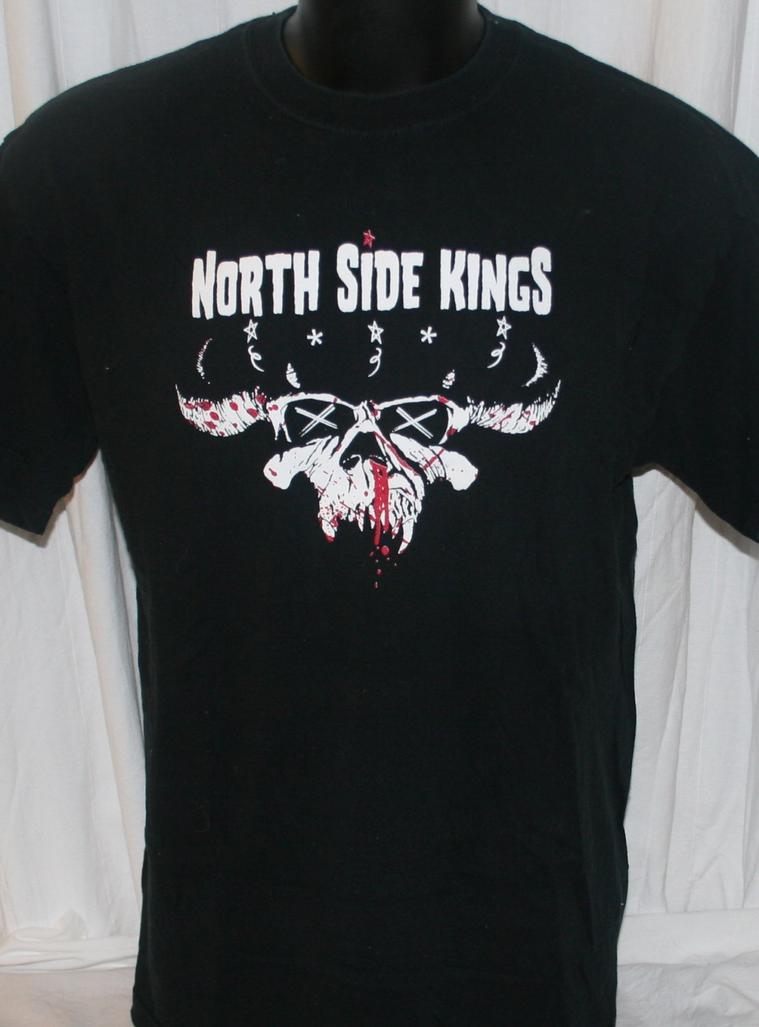 "North Side Kings ""Undefeated"" T Shirt Large"