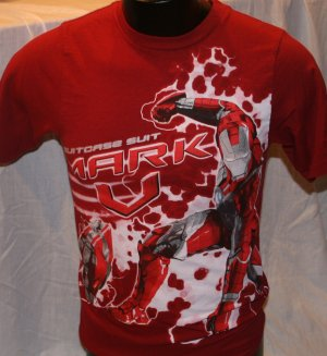Iron Man Youth Red Large 14/16 T Shirt