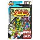 SPIDER-MAN & THUNDERBALL Marvel SECRET WARS 25th Ann. Comic 2 pack