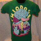 "Chiodos ""Dead Unicorn"" Green Small T Shirt"
