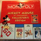 MICKEY MOUSE 75TH ANNIVERSARY COLLECTOR'S EDITION Monopoly