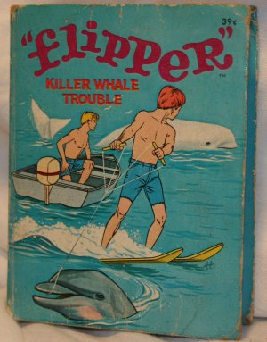 FLIPPER 1967 Big Little Book WHITMAN PUBLISHING COMPANY