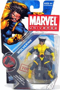 "WOLVERINE ""SAD FACE"" VARIANT Marvel Universe 3 3/4 #002"