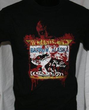 WELCOME TO BARROW ALASKA 30 Days of Night BLACK Small T Shirt
