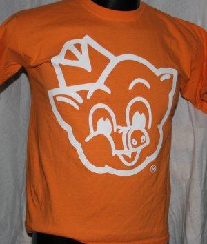PIGGLY WIGGLY I'm Big on the Pig LARGE Pink T Shirt
