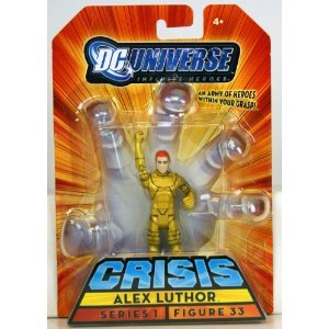 ALEX LUTHOR #33 Crisis INFINITE HEROES Action Heroes