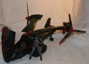 BLACK DRAGON VTOL G.I. Joe COMPLETE with Original Box