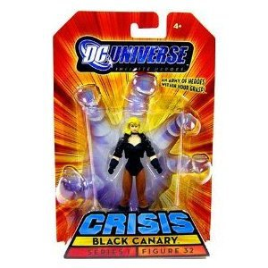 BLACK CANARY 75 Years of SUPER POWER DC Universe INFINITE HEROES Action Figure