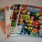 DC Comics JUSTICE LEAGUE QUARTERLY 1-4 Run GIFFEN DeMATTEIS