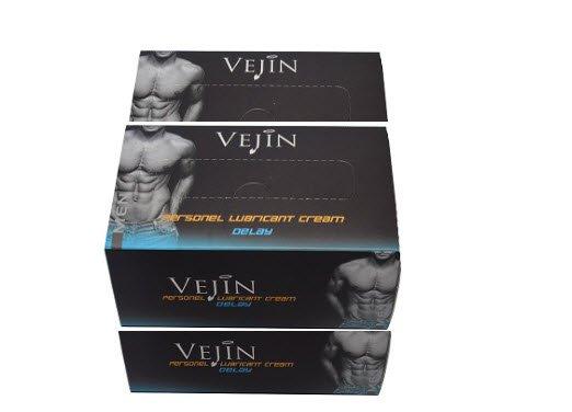 3 Boxes of Vejin Cream/Gel ( 36 packs)
