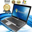 DELL Latitude Laptop Computer Windows Core 2 Duo 40GB DVD WiFi Notebook HD