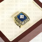 Team Logo wooden Case 1969 New York Mets world Series Championship Ring 10-13 size solid back