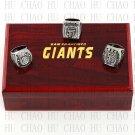 3PCS Sets 2010 2012 2014 San Francisco Giants world Series Championship Ring 10-13 size