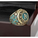 1974 OAKLAND ATHLETICS MLB world Series Championship Ring 10-13 size with cherry wooden case
