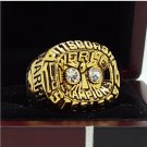 1975 Pittsburgh Steelers NFL Super bowl Championship Ring 11S Alloy Solid in stock