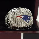 2001 New England Patriots NFL Super bowl Championship Ring 11S Alloy Solid in stock