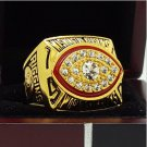 1982 Washington Redskins NFL Super bowl Championship Ring 11S Alloy Solid in stock