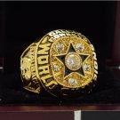 1971 Dallas Cowboys NFL Super Bowl FOOTBALL Championship Ring 7-15 Size