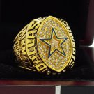1992 Dallas Cowboys NFL Super Bowl FOOTBALL Championship Ring 7-15 Size Copper Engraved Inside