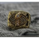 2002 Tampa Bay Bucaneers Super Bowl FOOTBALL Championship Ring 7-15 Size