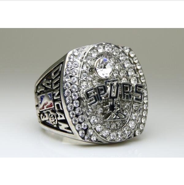 2005 San Antonio Spurs National Bakstball Championship Ring 10 Size Duncan Name