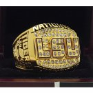 2003 Louisiana State University LSU Tigers NCAA National Championship Ring 7-15 Size