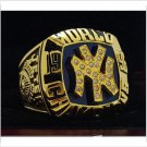 1996 New York Yankee MLB World Seires Championship Ring 7-15 Size Copper Solid Engraved Inside