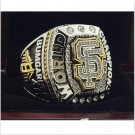 2014 San Francisco Giants MLB World Seires Championship Ring 8-14 Size Copper Solid