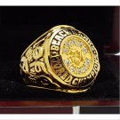 1961 Chicago Blackhawks Hockey NHL stanely Cup Championship Ring 7-15 Size Copper Solid