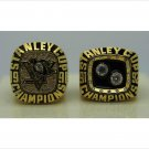 2 PCS 1991 1992 Pittsburgh Penguins NHL Hockey Stanely Cup Championship Ring 7-15 Size