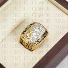 Team Logo wooden case 1997 Denver Broncos Super Bowl Championship Ring 10-13 size solid back