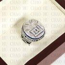 Team Logo wooden case 2011 New York Gaints Super Bowl Championship Ring 10 size solid back