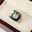 Team Logo wooden case 1970 Baltimore Colts Super Bowl Championship Ring 10-13 size