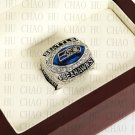 Team Logo wooden Case 2005 Seattle Seahawks NFC Football world Championship Ring 10-13 size