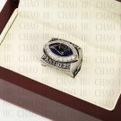 Team Logo wooden Case 2003 Carolina Panthers NFC Football world Championship Ring 10-13 size
